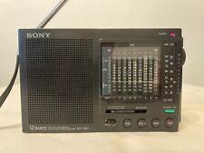 Sony ICF-7601, Weltempfänger, KW, MW, UKW, Kophöreranschluss.