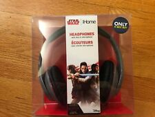 iHome - Star Wars LI-M40FB.FXV7M Over-the-Ear Headphones - Black/red