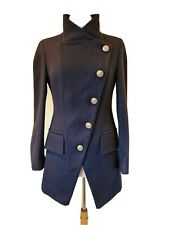 Vivienne Westwood Anglomania blue Military Style Coat Size 40