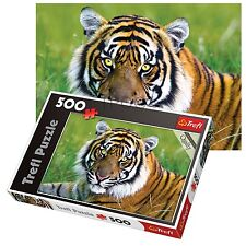 Trefl 500 Piece Adult Large Tiger Field Grass Relax Landscape Jigsaw Puzzle NEW