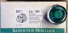 Klöckner Moeller Vorsatz Leuchtmelder Leuchtmeldervorsatz grün La-gn