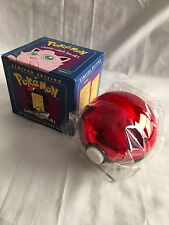 Pokemon JigglyPuff Trading Card 23K Gold Plated Pokeball Blue Box Ltd. Ed Sealed