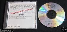 REM/ENO/FLAMING LIPS 'TRADEMARK OF QUALITY' 1992 PROMO CD—JANE'S ADDICTION