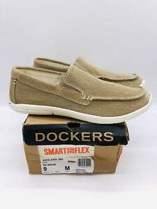 Dockers Men's Ashland Smart 360 Flex Slip On Loafers Khaki US 9M / EUR 42