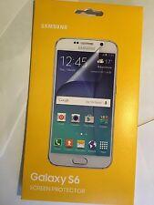Samsung Galaxy S6 Original Screen Guard Protectors Twin Pack ET-FG920CTE Sealed.