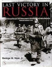 Book - Last Victory in Russia: The SS-Panzerkorps & Manstein's Counteroffensive