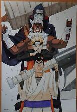 NARUTO SHIPPUDEN  NARUTO KILLER BEE KISAME  POSTER   42x29 CM NEW