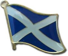 Wholesale Pack of 6 Scotland Cross Country Flag Bike Hat Cap lapel Pin
