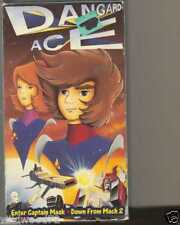 "Dangard Ace - ""Enter Captain Mask""/""Down From Mach 2"" (VHS, 2000)"