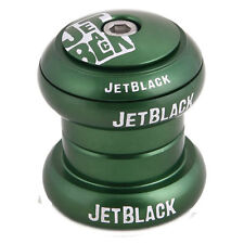 NEW JET BLACK HEADSET - ROCKET - GREEN - 1 - 1/8 FREE SHIPPING