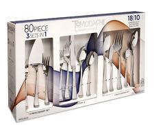 Tomodachi 80 Piece Flatware Set 18/10 Stainless Steel Ainsleigh Style