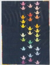 Paper Cranes - modern foundation paper piecing quilt PATTERN - Flying Parrot