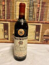 Vino 1970 Riserva Barolo Prunotto 72cl 13,5%