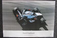 Poster West McLaren Mercedes MP4-19 2004 #5 David Coulthard (GBR) (AK)