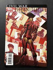 Civil War the Initiative #1 2nd Print Variant Cover Marvel Comics VF