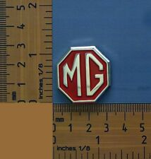 MGB GT, B, A, Magnette Red Octagon Quality Metal Lapel Pin / Badge