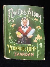 Vintage Dutch Trade Collector Cards Verkade Album Biscuits Cookies Holland