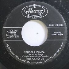 50'S & 60'S Nm! 45 Russ Carlyle - Studola Pumpa / You'Re Keeping A Secret On Mer
