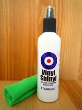 More details for vinyl shinyl record cleaner - 200ml standard formula with free microfibre cloth