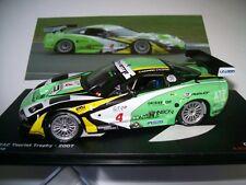 2007 CHEVROLET CORVETTE C5-R 3rd SILVERSTONE FIA GT KUMPEN / LONGIN 1/43 IXO NEW