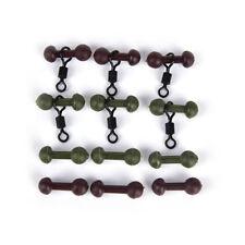 30 Carp fishing heli chod beads swivels rubber beads with quick change swivel*v*