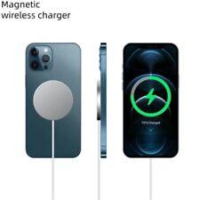 Magsafe Charger Für IPhone 12 Pro/Max/12/ Mini Schnellladegerät 15w USBC Weiß