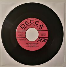 """Jim Eanes Possum Hollow/The Things I Love About You 45rpm """"Promo"""" Vg+"""