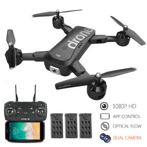F88 RC  with Dual Camera 1080P  Follow Optical  Positioning Q8I2