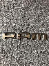DODGE RAM EMBLEM LETTERS 02-08 OEM DOOR CHROME BADGE sign symbol logo name