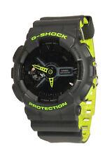Casio g-Shock Protection ga-110ln-8a gris Lime Green neón con caja rareza; k48