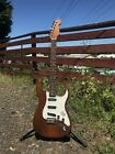 USA Custom Warmoth 920D Toasted Partscaster Electric Guitar w/ Brian May Burn... for sale