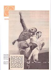 JIMMY ARMFIELD BLACKPOOL 1954-1971 ORIGINAL HAND SIGNED PICTURE CUTTING