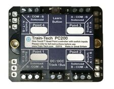 More details for train tech dcc point controller - quad with route store/switching n/ho/oo gauge