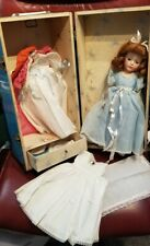 New ListingVintage 50'S Hard Plastic Princess Margaret Lookalike Doll Cass Toys Doll Trunk
