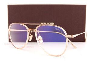 Brand New Tom Ford Eyeglass Frames FT 5666-B/O  074 Rosa For Men