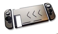 Nintendo Switch Console Grey Aluminium Metallic Shell Case Protector UK Seller