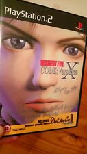 Resident Evil Code Veronica X Signed Video Game Ps2