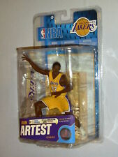 McFarlane NBA 18 Los Angeles Lakers Ron Artest Action Figure Yellow New MIMB