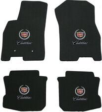 Lloyd Mats 4 Piece Floor Mat Set 2008 - 2011 Cadillac DTS Black Double Logo all