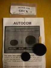 NOS Autocom Open Face Headset Conversion Kit OFCK