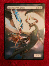 Magic the Gathering MTG altered art Nicol Bolas Baneslayer Angel