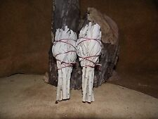 SAGE WHITE SMUDGE STICKS SPIRIT REMOVAL GROWN IN THE US