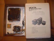 Vexta DC motor y controlador de control de velocidad con velocidad Cont FBL430GD-24 Stock #K2608
