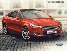 Ford Mondeo 05 / 2015 catalogue brochure slovaque Slovakia rare