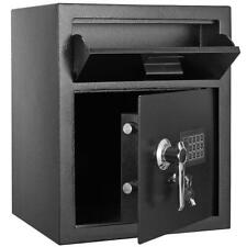 Zokop Electric Depository Drop Gun Digital Safe Box Cash Office Security Lock