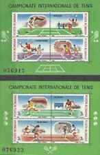 Timbres Sports Tennis Roumanie BF196A/B ** lot 23404