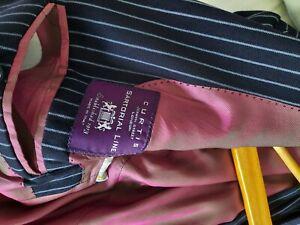 curtis Sartorial Line 2 piece blue striped suit