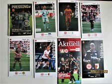 Eintracht Frankfurt 8 BL-Programme (Gesamtabnahme)
