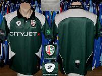 London Irish Rugby Union Rugbytech 2009/2010 Home Shirt Jersey Trikot Maillot