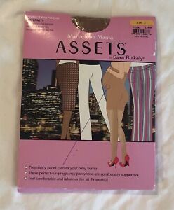 NEW ASSESTS (SPANX) Marvelous Mamma Nude Sheer Maternity Hosiery - Size 2